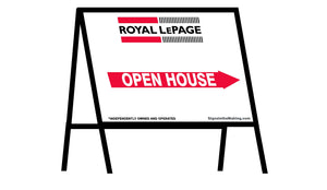 Royal LePage - A-Frame Open House Inserts (Sets of 2)
