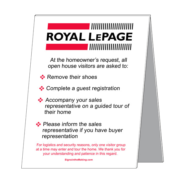 Royal LePage - Open House Etiquette