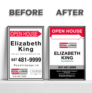 Royal LePage - REFACE Sandwich Boards