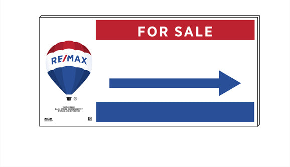 RE/MAX<sup>®</sup> - Directional Signs, Generic