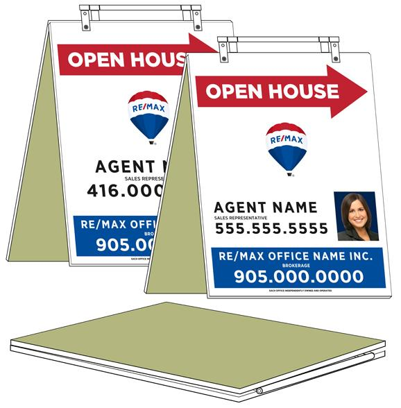 RE/MAX® - REFACE Sandwich Boards