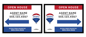 RE/MAX® - A-Frame Open House Inserts (Sets of 2)