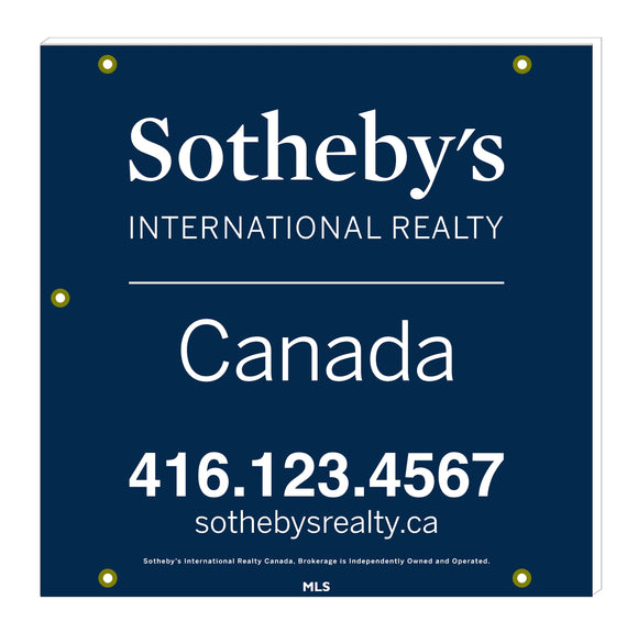 Sotheby's - For Sale Signs