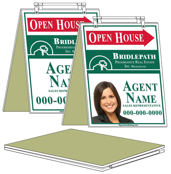 Bridlepath - Sandwich Boards