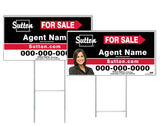Sutton - Directional Signs, Personalized