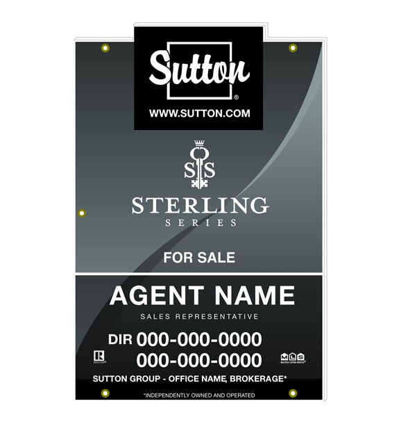 Sutton - For Sale Signs - Sterling Series