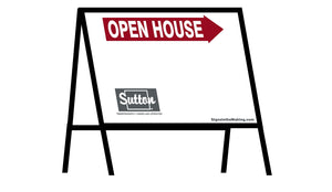 Sutton - A-Frame Open House Inserts (Sets of 2)