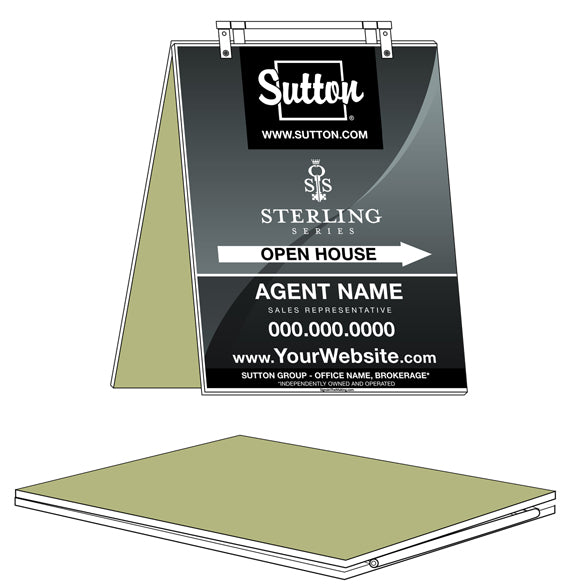 Sutton - Sandwich Boards - Sterling Series