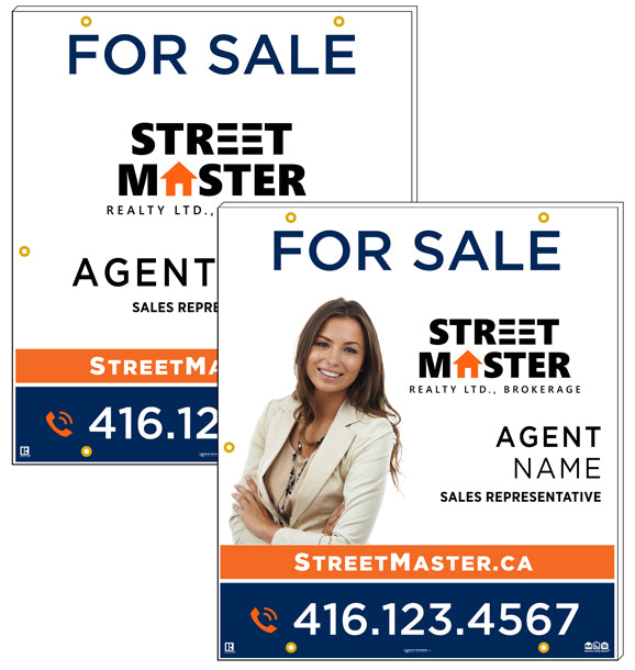 Street Master Realty - For Sale Signs