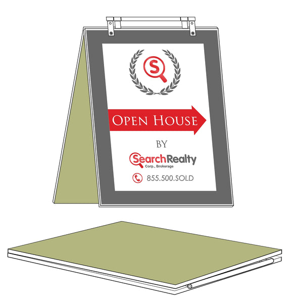 Search Realty - Sandwich Boards