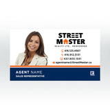 Business Cards - Street Master Realty