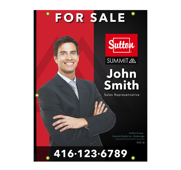 Sutton Summit - For Sale Sign - Style 1