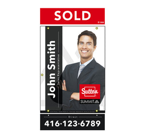 Sutton Summit - For Sale Sign - Style 3