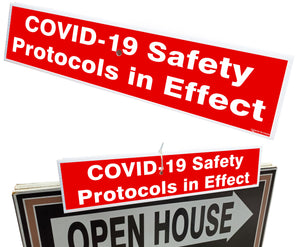 Tent - Open House COVID-19 Safety Protocols in Effect