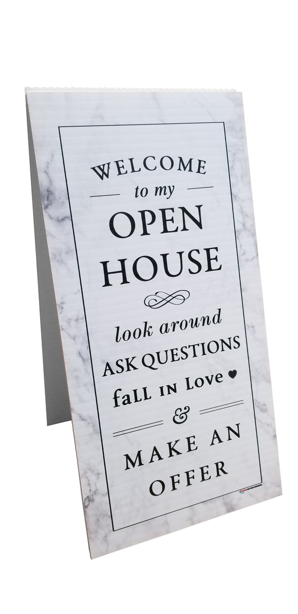 Welcome To My Open House  - Fall in Love - Coro Tent