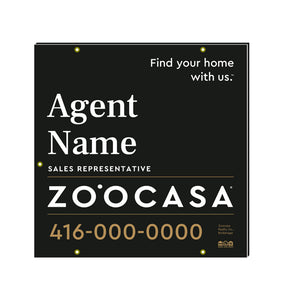 Zo˙ocasa For Sale Signs