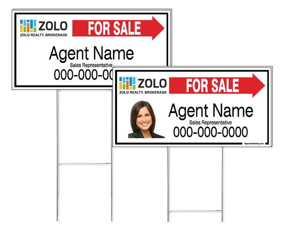 Zolo - Directional Signs, Personalized