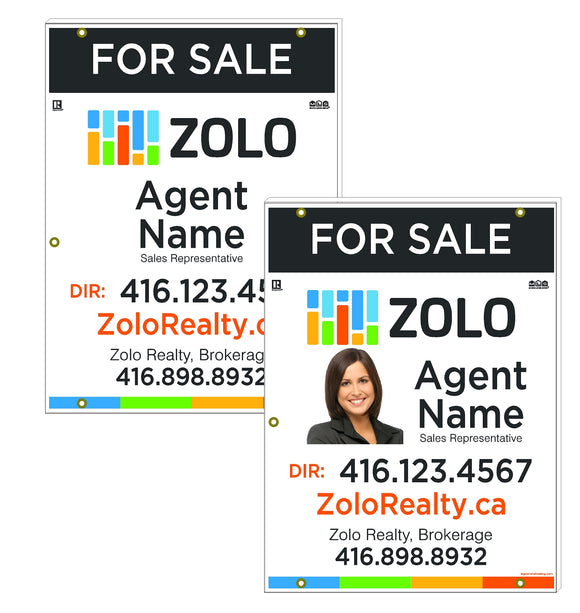 Zolo Realty - For Sale Signs