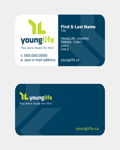 Young Life Business Cards