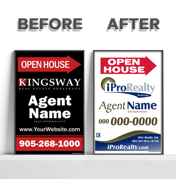 iPro Merger - REFACE Sandwich Boards