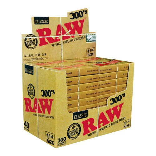 Raw Classic Creaseless Cigarette Paper - 300'S - Infyniti Scales