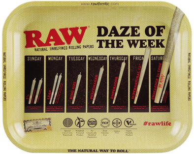 RT1009LG: DAZE OF THE WEEK, RAW LARGE - Infyniti Scales
