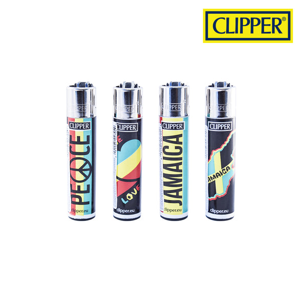 Clipper Lighter - Rastafarian Design - Infyniti Scales