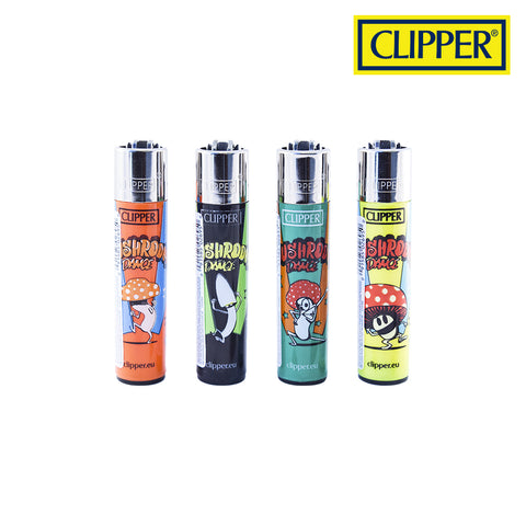 LT1001MUS: Clipper Lighter, Mushroom Dance