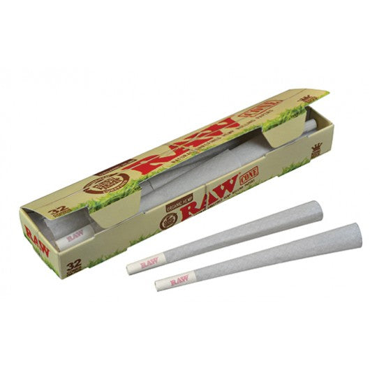 CP1251: Raw Organic Preroll King Size Cones - Singles - Infyniti Scales