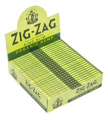 CP-GN-CP1278: ZIG ZAG ORGANIC HEKP KING SLIM CIGARETTE PAPERS