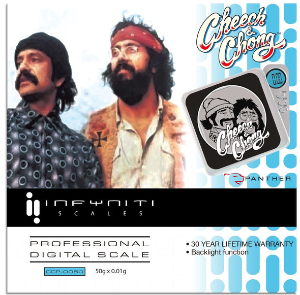 Cheech and Chong Panther, Licensed Digital Pocket Scale, 50G x 0.01G Scales Infyniti Scales