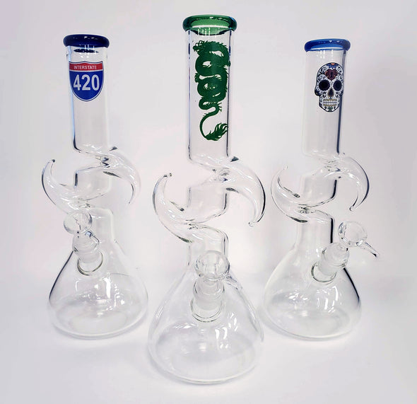"12"" Water Pipes with Zong"