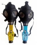 Acrylic Gas Mask with Silicone Tube