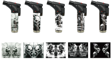 Torches - Skull Design