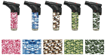 Camouflage Print Torches