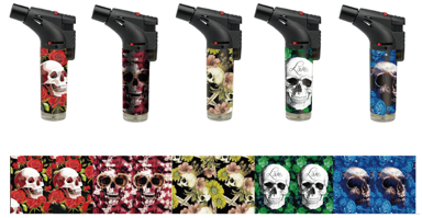 Torches-skull Designs