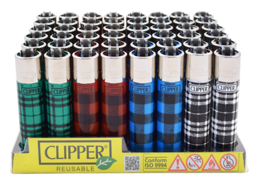 LT1001FBP: Clipper Lighter, Fabric Print - Infyniti Scales