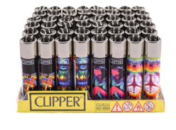 AC-LT1001TIE: Clipper Lighter, Tie Dye - Infyniti Scales