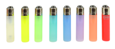 Clipper Lighter - Micro Translucent  LIMITED QUANTITY