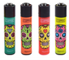 AC-LT1001MEX: Clipper Lighter, Mexican Skull - Infyniti Scales