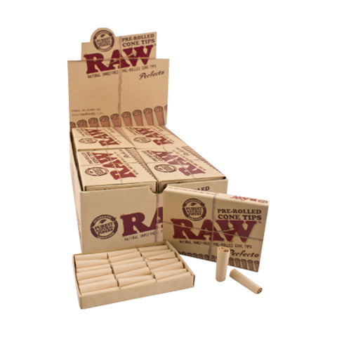 CP1109: Raw Pre-Rolled Cone Tips - Infyniti Scales