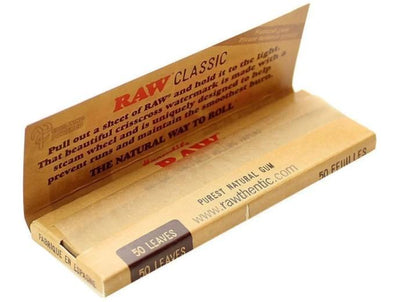 Raw Classic Cigarette Papers - Infyniti Scales