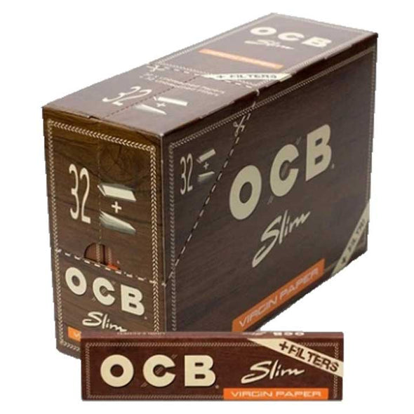 OCB unbleached Cigarette Papers