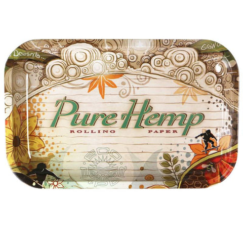 RT1027: PURE HEMP, ROLLING TRAY (SMALL) - Infyniti Scales