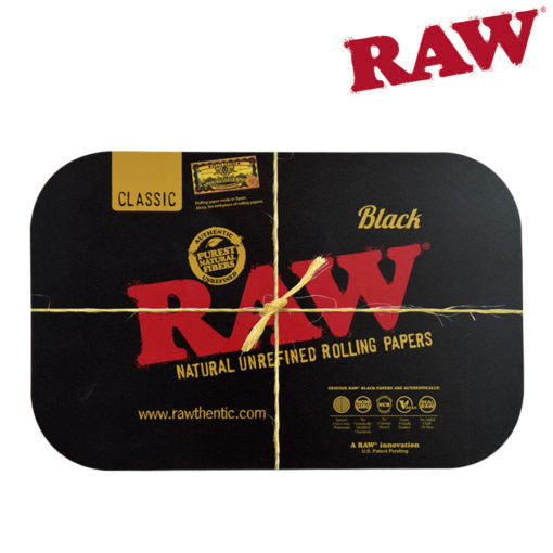 Raw Black Magnetic Tray Cover