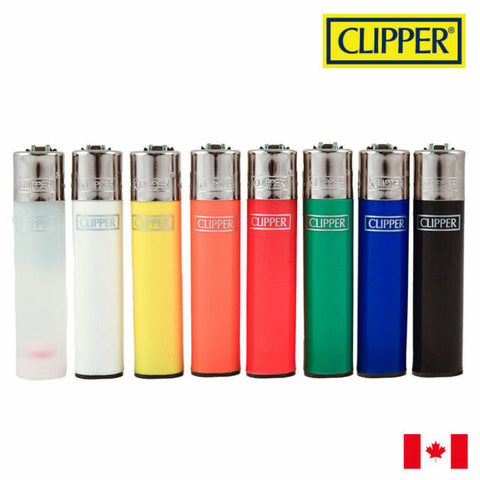 LT1001CLA: CLIPPER LIGHTERS, CLASSIC MAX (24 LIGHTERS/TRAY)