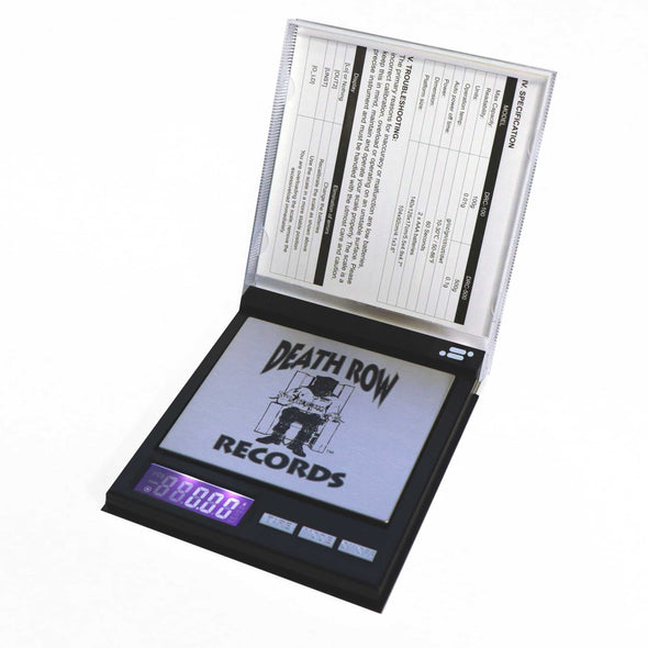 Death Row Records, Licensed Digital Pocket Scale, 100g x 0.01g