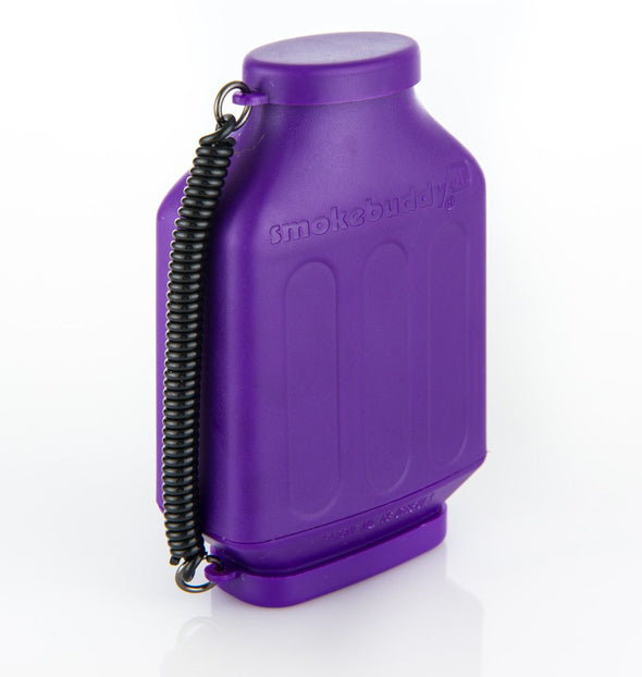 SBI1002PUR: SMOKEBUDDY JUNIOR, PURPLE - PERSONAL AIR FILTER - Infyniti Scales