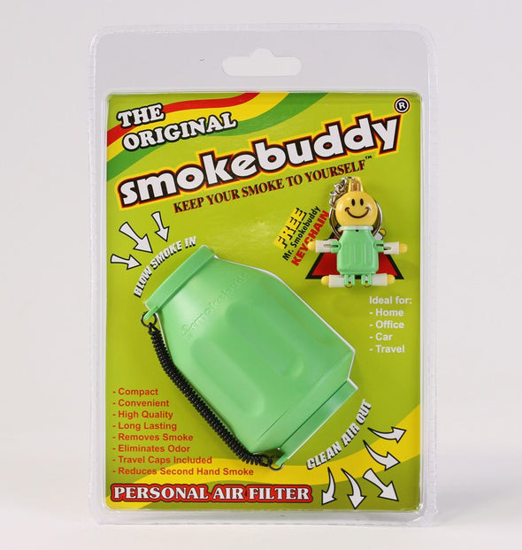 SBI1001LIM: SMOKEBUDDY ORIGINAL, LIME GREEN - PERSONAL AIR FILTER - Infyniti Scales