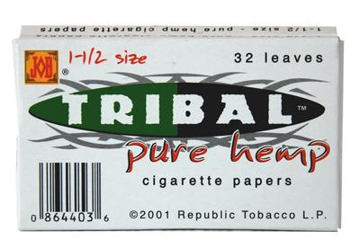 Pure Hemp Tribal Cigarette Papers - Infyniti Scales